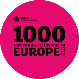 "London Stock Exchange ""1000 companies which inspire Europe"""